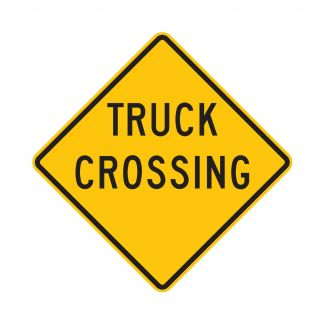 W8-6 Truck Crossing